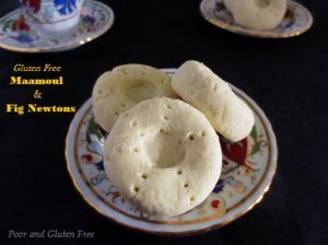gluten free maamoul and fig newton recipe